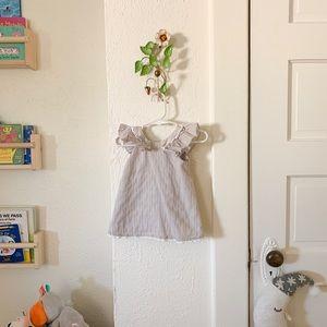 Cute gray baby dress!